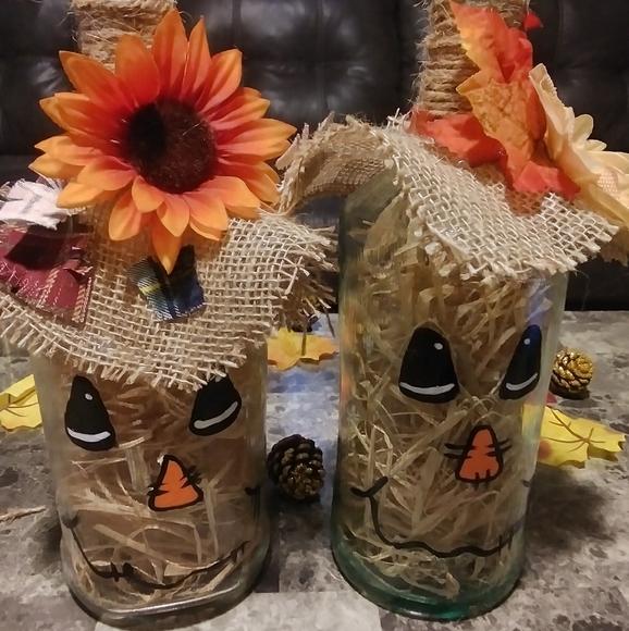 2 Gallon Scarecrows